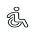 Ikona osoby niepełnosprawnej